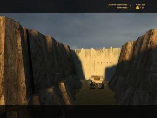 Dam outside Beta