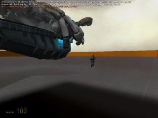 Combine Dropship Drops Soldier