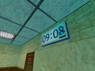Waiting Room Clock