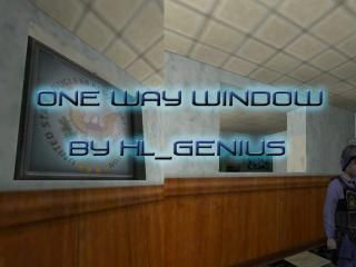 One way window