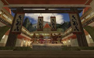 Asian Courtyard
