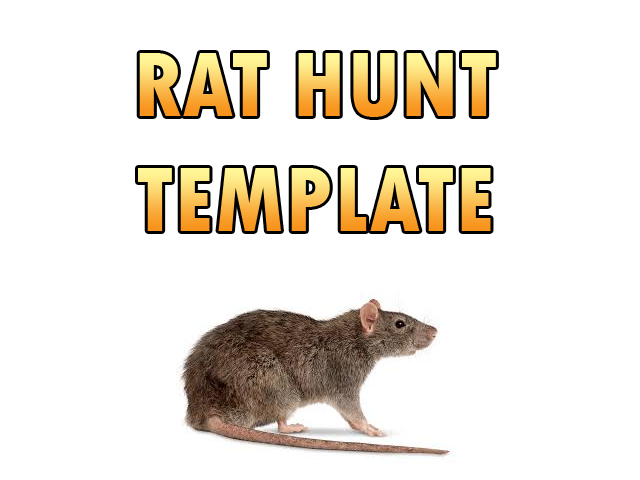Rat Hunt Template