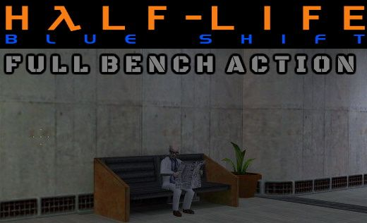 Half-Life: Blueshift Bench