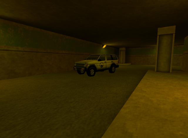 Old school Black Mesa SUV