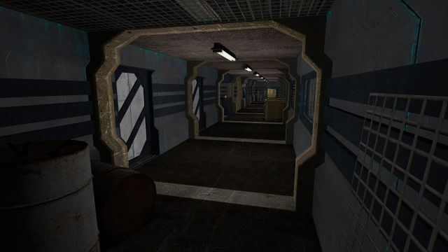 Unfinished Airship Interior - Battleship Athens