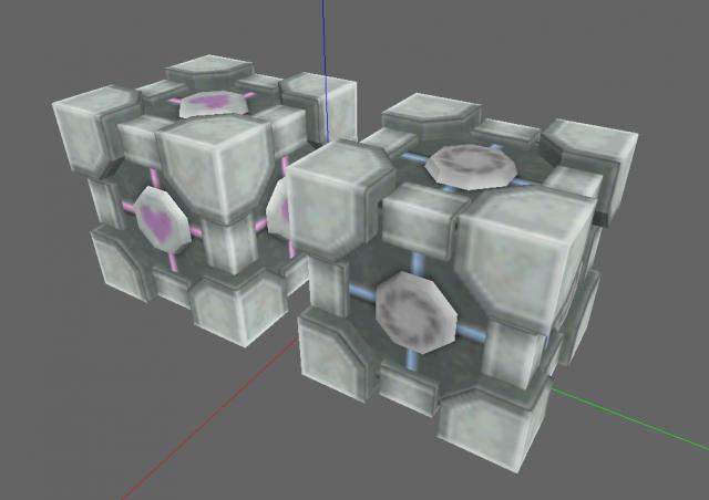 Portal Cubes