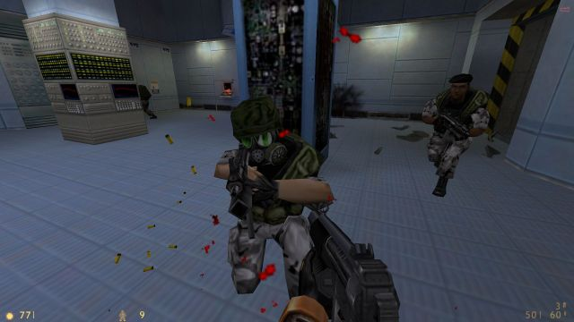 Opposing Force grunts for Half-Life and Blue Shift