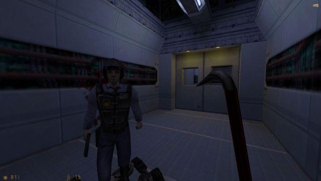 HD Gordon hands on LD models for Half-Life