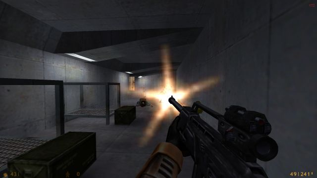 TFC Sniper Rifle in Half-Life and it's expansions