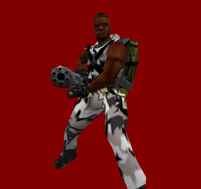 Sven Coop 3.0 Human Sergeant