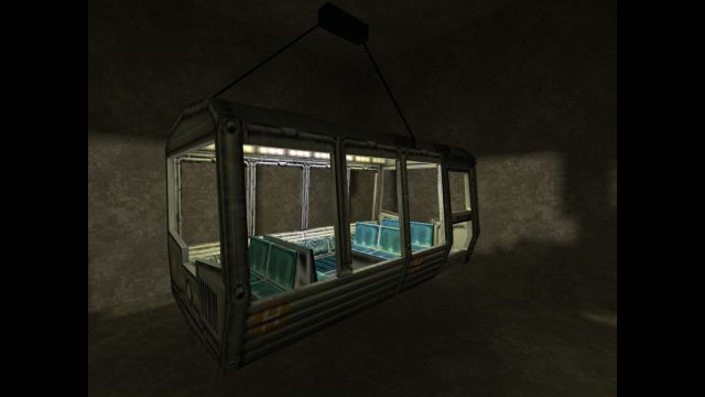 An interpretation of the Half-Life subway (NOT THE ORIGINAL)