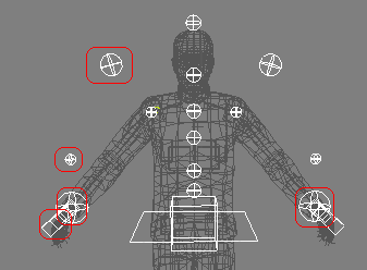 Controls used in this tutorial