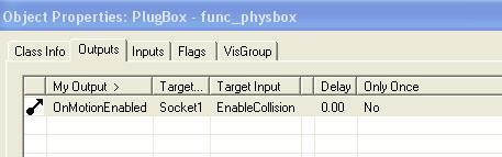 Physbox Output