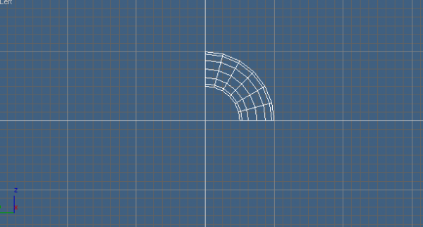 A curve pipe piece.