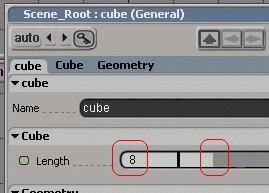 Edit cube property