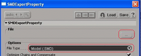 smd export dialog