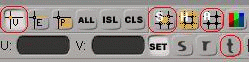 Text Editor buttons